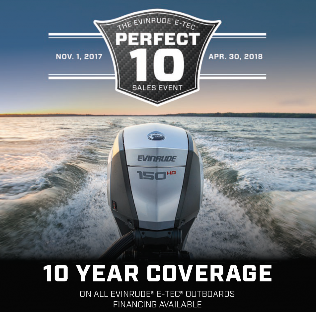 Evinrude Perfect 10 Sales Event